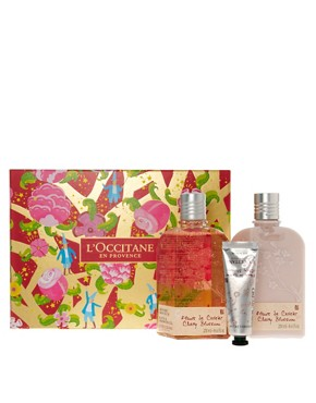 Image 1 ofL&#39;Occitane Cherry Blossom Set SAVE 24%