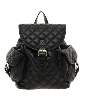 Image 1 of ASOS Mini Quilted Backpack