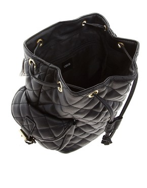 Image 2 of ASOS Mini Quilted Backpack