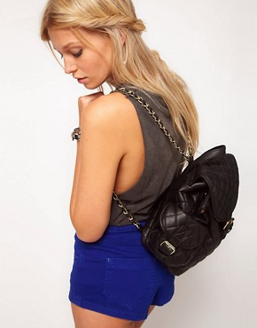 Image 3 of ASOS Mini Quilted Backpack