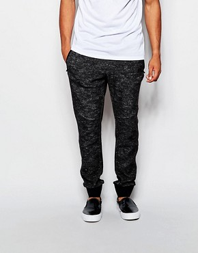 Sisley Wool Joggers With Cuffed Hem