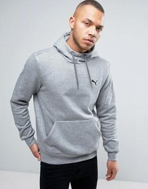 Puma ESS Hoodie In Grey 838255 03