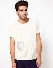 Denim Demon T-Shirt Pocket Crew