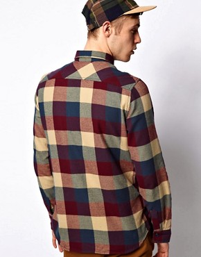 Image 2 ofVans Shirt Box Check Slim Flannel