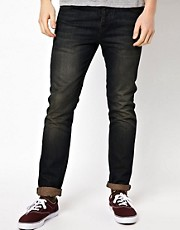 ASOS - Jeans slim blu scuro