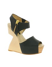 Senso Willow Cut Out Wedge Sandals