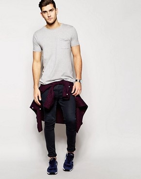 Image 4 ofASOS Crew Neck T-Shirt With Pocket