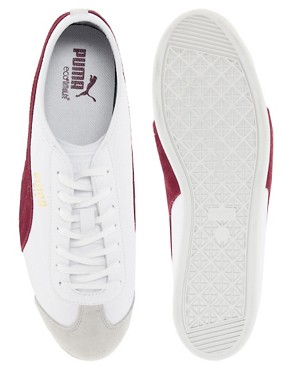 Image 3 ofPuma Fit Leather Trainers
