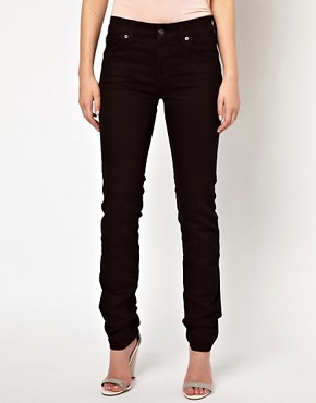 Image 4 of7 For All Mankind Cristen Mid Rise Skinny Jeans