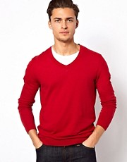 ASOS  Pullover mit V-Ausschnitt