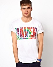 River Island T-Shirt With Raver Print