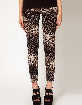 Image 4 ofOh My Love Leopard Skinny Jeggings
