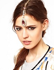 ASOS Eye Drop Tikka Hair Clip