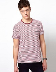 Plectrum By Ben Sherman T-Shirt Crew Neck
