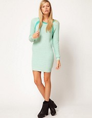 ASOS Sweat Knit Jumper Dress
