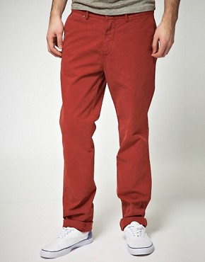 Image 1 of7 For All Mankind Slimmy Chinos