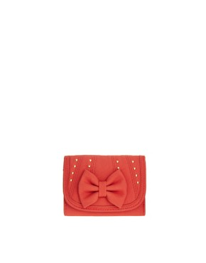 Image 1 ofNew Look Kelly Stud Bow Purse