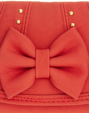 Image 3 ofNew Look Kelly Stud Bow Purse