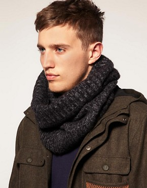 Image 1 ofASOS Chunky Rib Snood