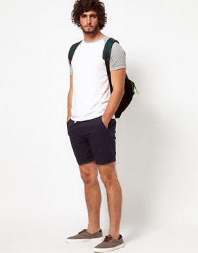 Image 4 ofASOS Chino Shorts With Belt