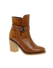 Park Lane Tan Leather Boots