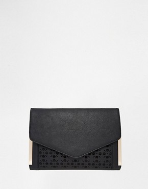 ASOS Envelope Laser Cut Clutch Bag