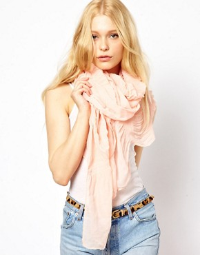 New Look Ruffle Scarf at ASOS :  spring ruffle scarf
