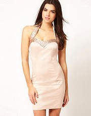 ASOS Occasion Dress with Sequin Trim