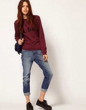 Image 4 ofA Question Of Chic Organic Sweatshirt