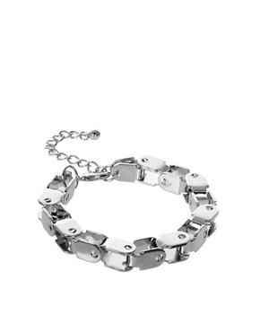 Image 1 ofASOS Bike Chain Bracelet
