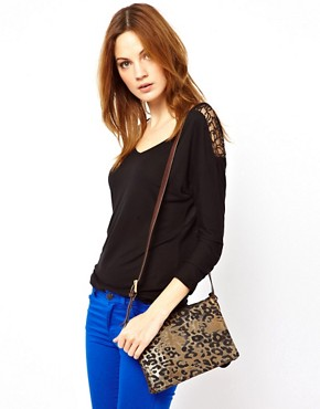 Image 3 ofPaul Smith Poppy Leopard Bag