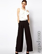 ASOS PETITE Trousers In Wide Leg