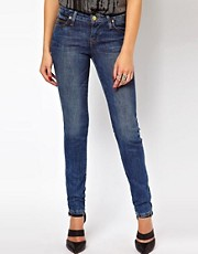 Vivienne Westwood Anglomania For Lee Skinny Jean In Mid Sensation