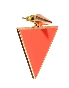 Image 3 ofASOS Spike Triangle Earrings