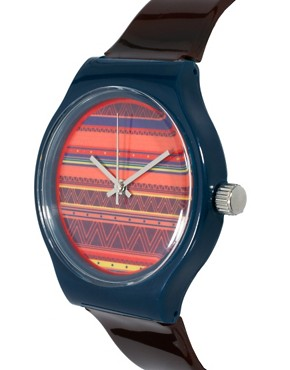 Image 3 ofASOS Fair Isle Face Watch