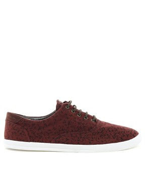 Image 4 ofRiver Island Canvas Plimsolls