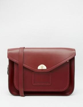 The Cambridge Satchel Company Leather Twist Lock Satchel