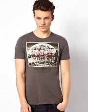 Esprit T-Shirt With Photo Print
