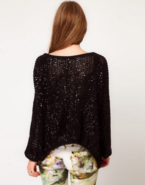 Image 2 ofReligion Cotton Sequin Cardigan