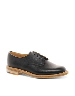 Image 1 ofASOS Derby Shoes Made in England