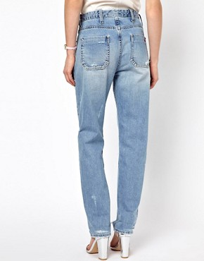 Image 2 ofMih Halsy Distressed Boyfriend Jeans