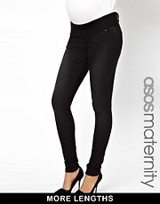 ASOS Maternity Ridley Supersoft Skinny Jean With Stretch Waistband
