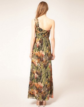Image 2 ofTed Baker Tulip Print Maxi Dress