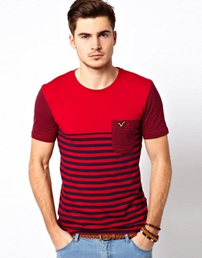 Image 1 ofVoi Hero T-Shirt Stripe