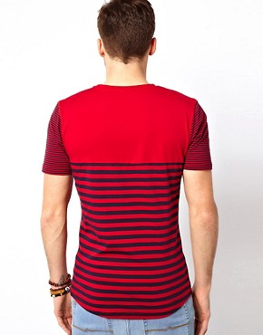 Image 2 ofVoi Hero T-Shirt Stripe