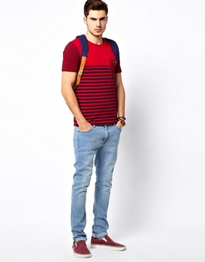 Image 4 ofVoi Hero T-Shirt Stripe