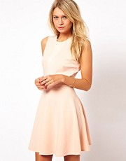 Love Skater Dress with Shimmer Insert
