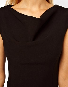 Image 3 ofASOS Pencil Dress with Slash Neck Detail