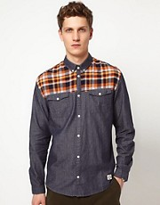 Suit Panel Long Sleeve Shirt