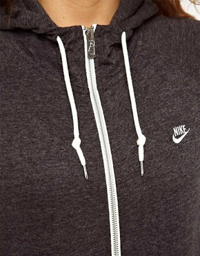 Image 3 ofNike Zip Front Hoodie